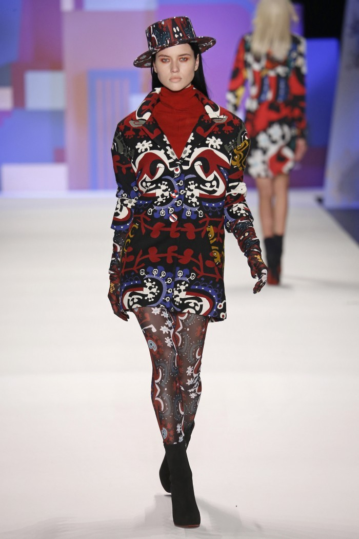 c325d3f6917 Desigual abre la New York Fashion Week