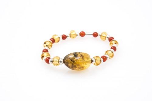 eme-jewels-pulsera-de-ámbar,-plata-y-cristal-checo