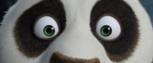 ojos de panda
