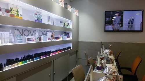 Salón de manicura Luisa Lago Barcelona