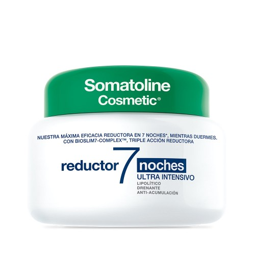somatoline cosmetic reductor 7 noches ultra intensivo