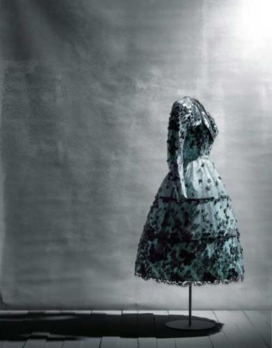 Exposición Balenciaga a través del encaje