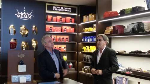 Francesc Planas y Ramón Monegal en Regia