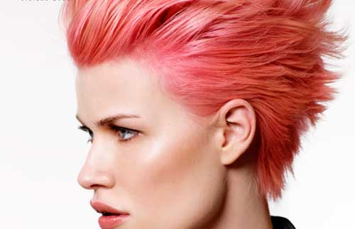 Rubios rosas, coral pink... El rosa está de moda
