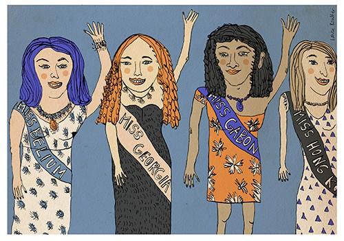Miss World ilustración