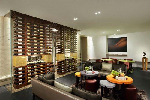 La cueva de las maravillas vitivinicolas en el Spa Caudalie del hotel Plaza.