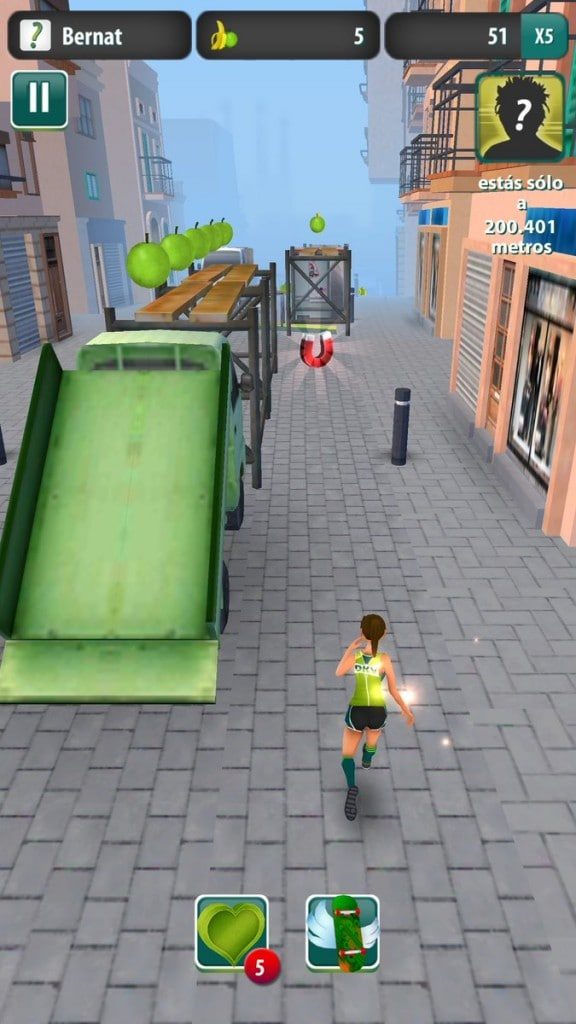 juego runners4health