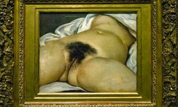 origen del mundo Courbet