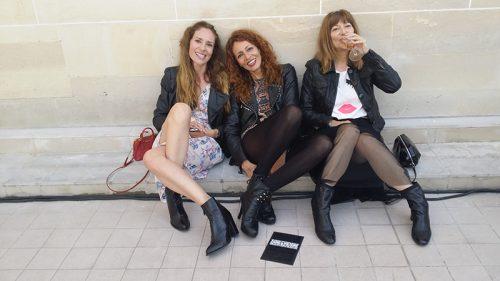 De izquierda a derecha una selección de la prensa de belleza española: Eva Gascón de Joyce, Clara Buedo de L´Officiel y Ana Parrilla, peridodista freelance.