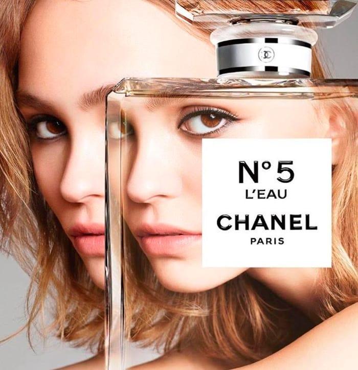 chanel-n5-leau-lily-rose-depp