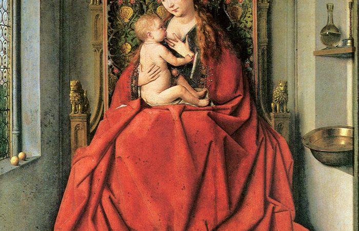 Lucca Madonna, Jan Van Eyck