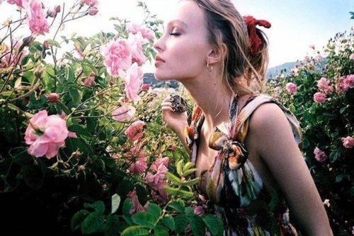 lily-rose-depp chanel nº 5 l´eau