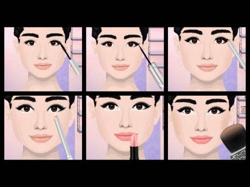eye-liner audrey-hepburn-makeup