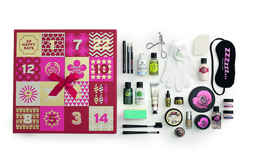 calendario adviento body shop