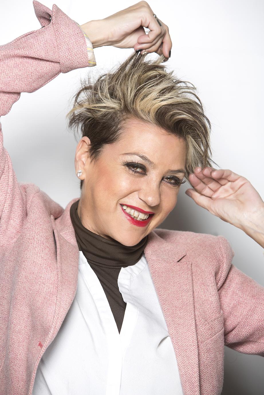 Begoña Fernandez, estilista de Yolanda Aberasturi