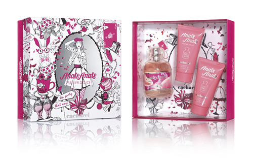 anais, perfume, mujer, navidad