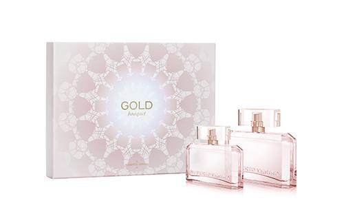 gold bouquet lattice coffret, perfume , mujer, Roberto Verino