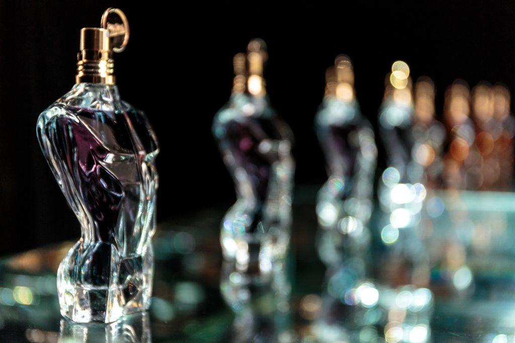 FRANCE. Paris. 2016. Essences de Parfum. Jean Paul Gaultier Head