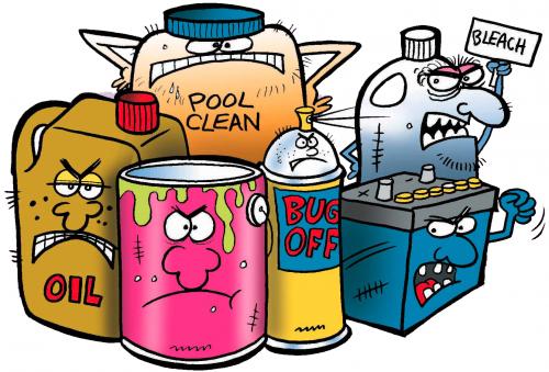 químicos en casa