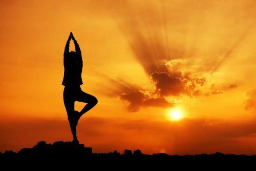 yoga feliz año nuevo
