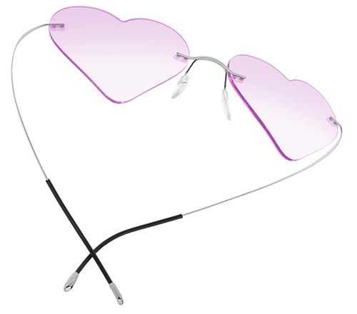 Silhouette gafas SanValentin