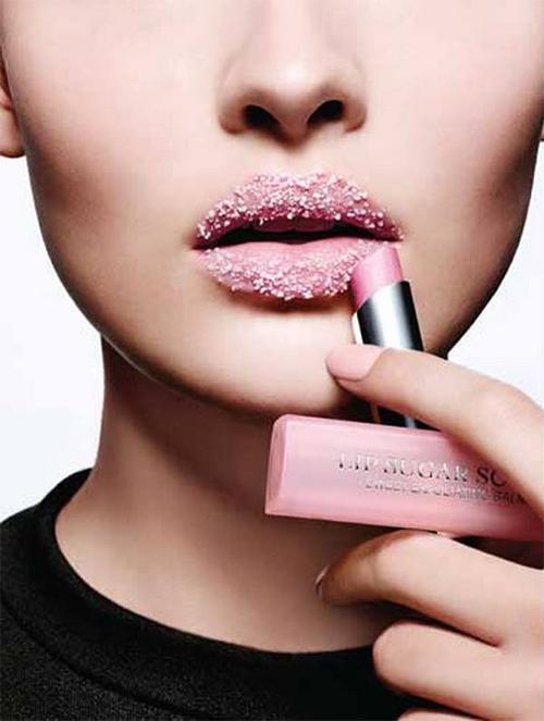 exfoliante para labios Christian Dior