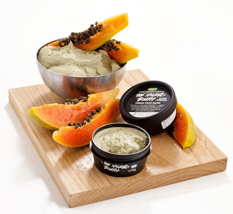 Lush the Sacred Truth Papaya