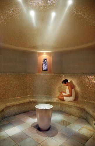 Sauna Cristales Amatista Mandarin Oriental New York
