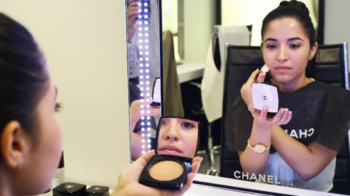 TALLER MAQUILLAJE CHANEL