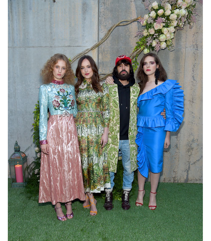 Gucci Bloom Alessandro Michele Dakota Johnson Petra Collins Hari Nef