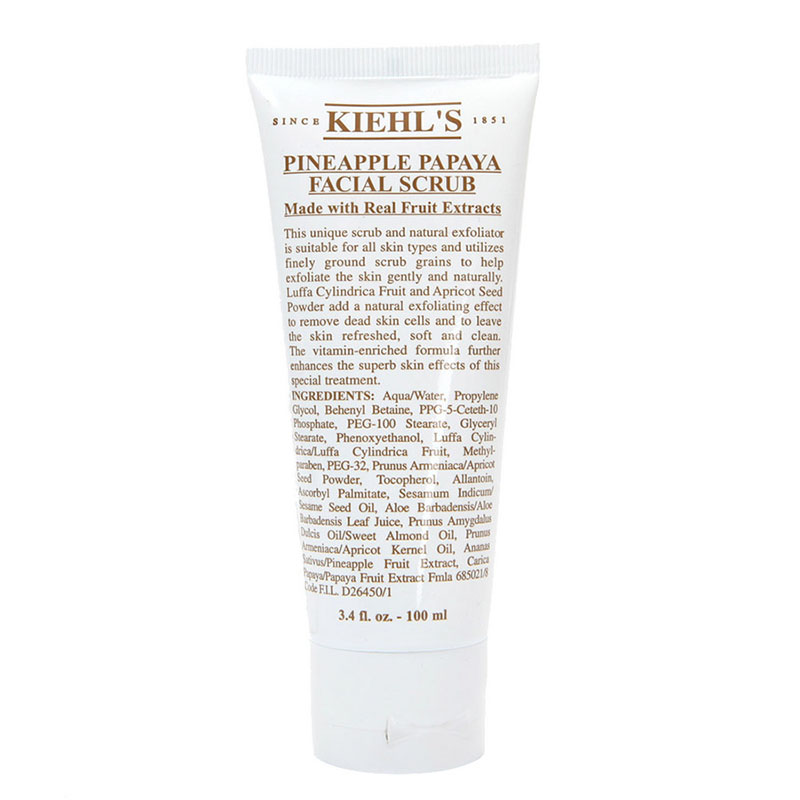Kieh's Pineapple and Papaya Facial Scrub