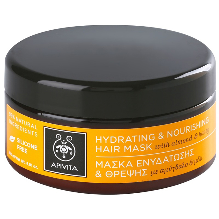 mascarilla hydrating hair mask apivita