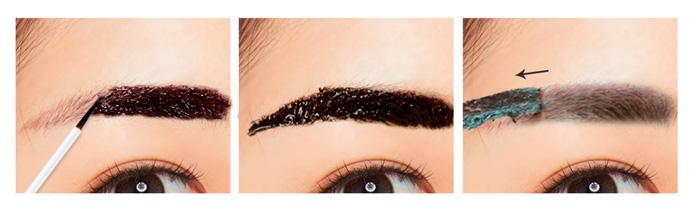 G9 Skin Essence Tattoo Eye Brow Tinte Cejas Aplicacion