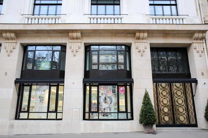 Maison Sisley Paris Fachada