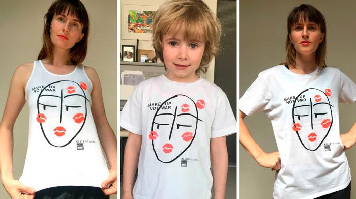 Ellis Faas Camisetas Solidarias