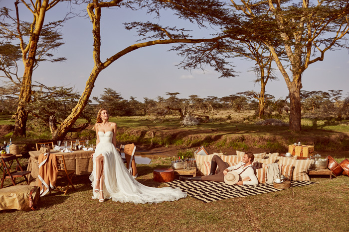 Pronovias 2018 Wild Love In Esat Africa