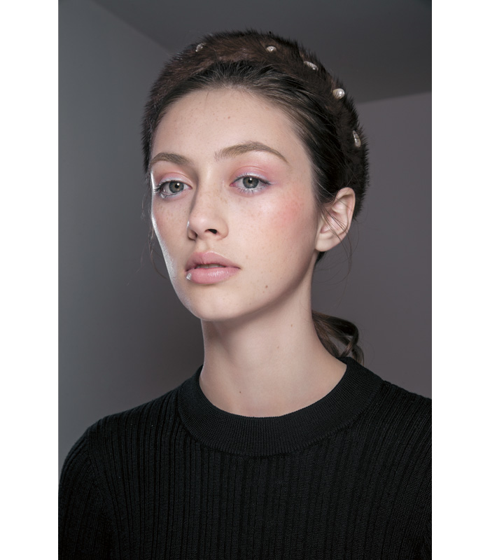 Tendencias Maquillaje Otono Invierno 2018 Altuzarra