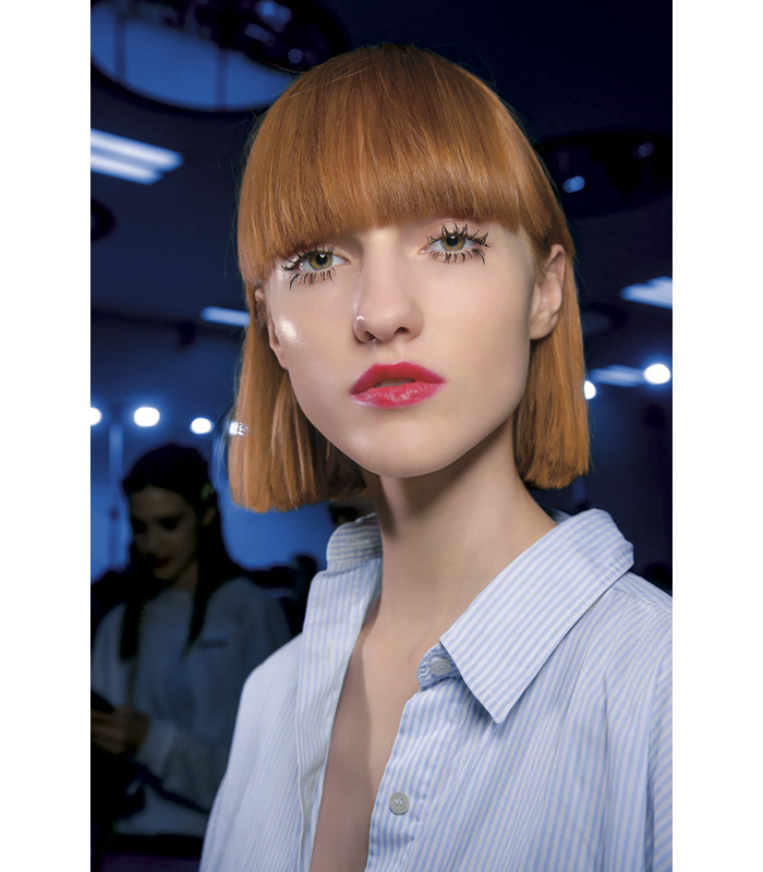 Tendencias Maquillaje Otono Invierno 2018 Msgm