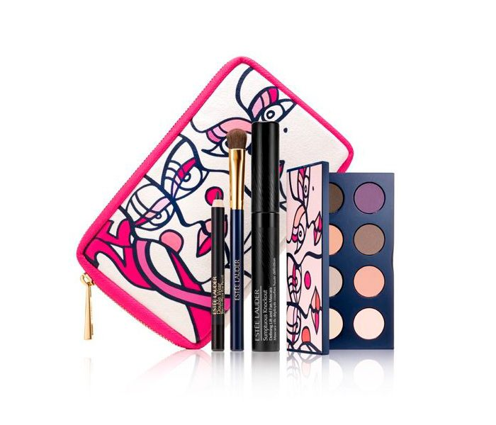 Cancer Mama Estee Lauder Pink Ribbon Knockout Eyes Collection
