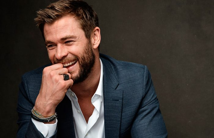 Chris Hemsworth Boss Bottled