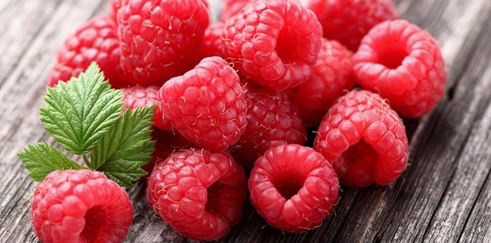 frambuesas, perfumes con frutas
