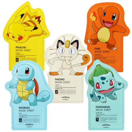 Mascarillas Pokemon