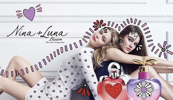 Nina Luna blossom perfume con fruta