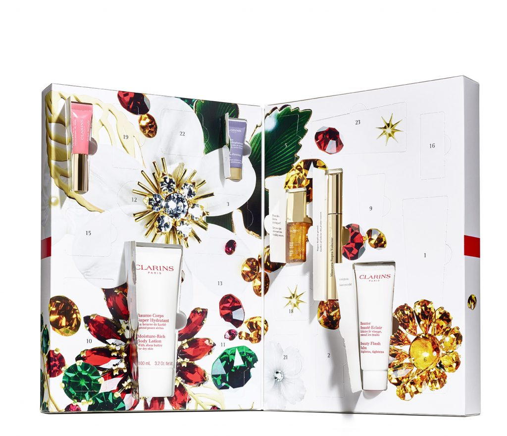 calendario adviento clarins