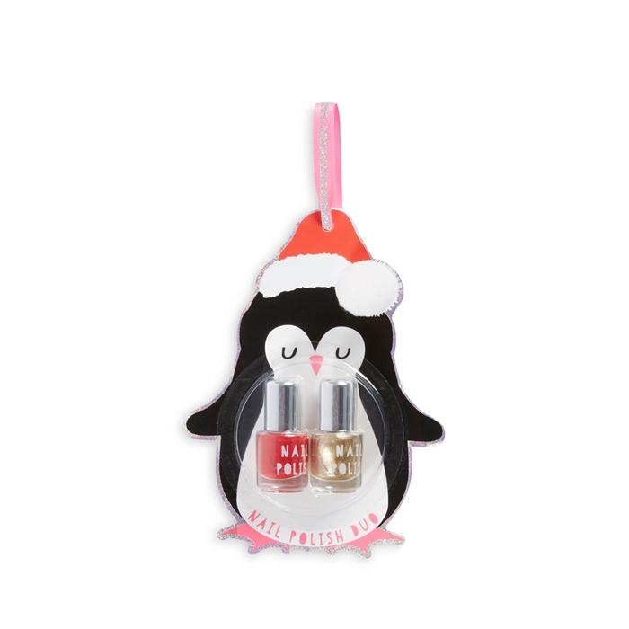 Regalo Navidad Primark Pinguino Esmaltes
