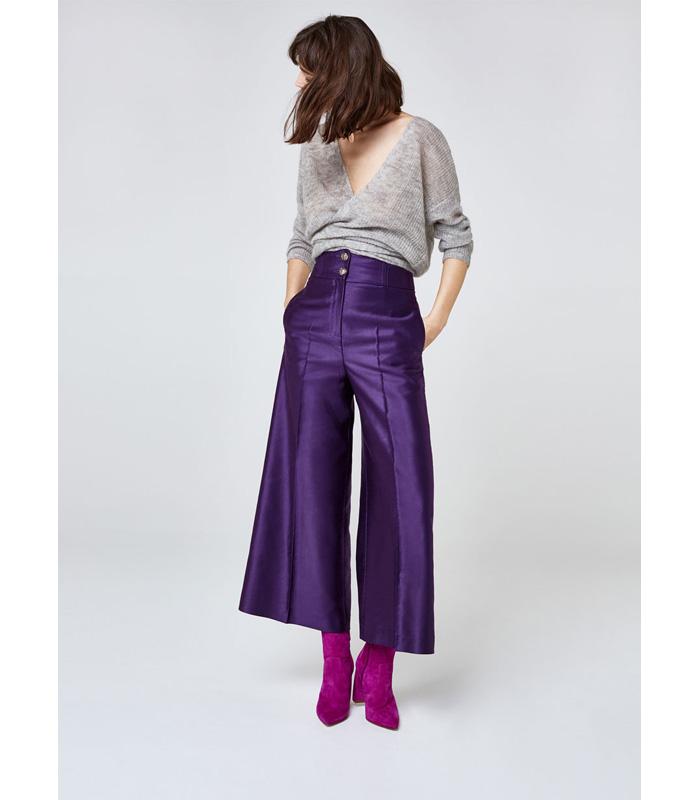 Ultra Violet Pantalon Uterque