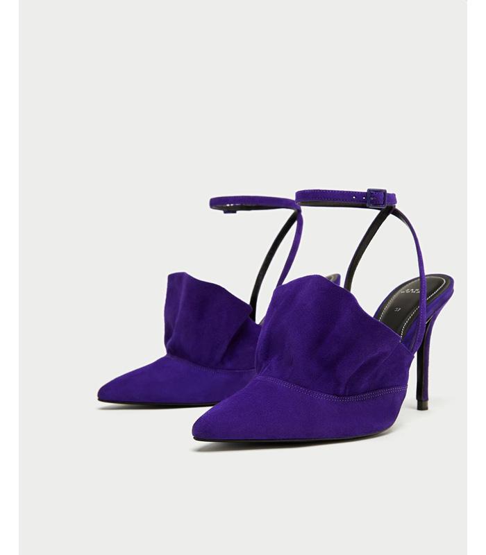 Ultra Violet Zapatos Zara