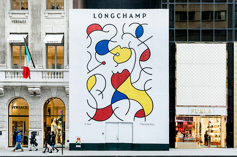 Artwalk Remed NY LONGCHAMP Web
