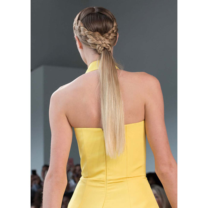 Tendencias Cabello 2018 Christian Siriano 2