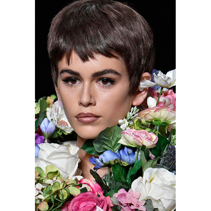 Tendencias Cabello 2018 Moschino